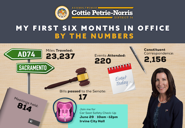 Assemblywoman Cottie Petrie-Norris By The Numbers