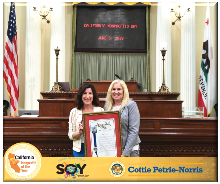 Capitol Recognition of Mary Cappellini