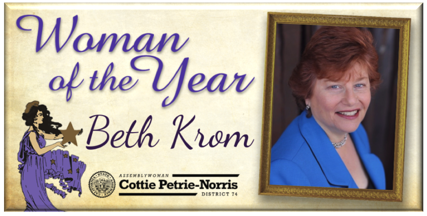 Woman of the Year Beth Krom